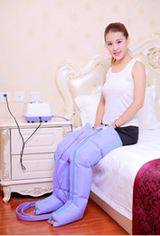 Wholesale Air Legs - Electric Pneumatic Air Pressure Leg   Arm 360 Degree Massager Relax Thigh Pressotherapy Massage Weight Lose Air Compression Wrap CE