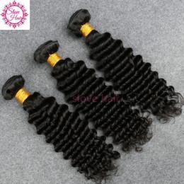 Роза бразильские волосы глубокой волны онлайн-8A глубокая волна бразильские волосы 3 пучка Slove Rosa Queens волос компании влажные и волнистые девственные бразильские волосы бразильский глубокая волна Хай