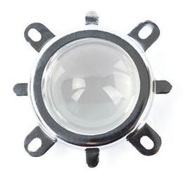 Оптовая Lkd 44 мм Объектив + Отражатель Коллиматор + Фиксированный кронштейн Для 20 Вт-100 Вт Светодиодная Лампа DIY Новая Горячая Продажа от