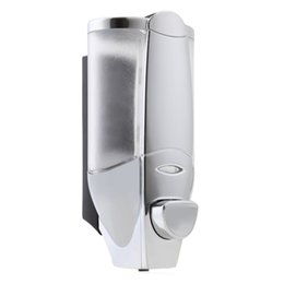 Wholesale wall mounted hand soap dispensers - Soap Dispenser 300ML Wall Mount Lotion Pump Hand Soap Dispenser Anti-Corrosion Bathroom Washroom Shower Shampoo for Home Hotel Bathroom +NB