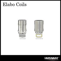 Wholesale triple coils - Authentic Wismec Elabo Atomizer Replacement Coils Triple 0.2ohm Head & NS Triple 0.25ohm Head ,Triple 0.2ohm Head for Elabo Mini Atomizer