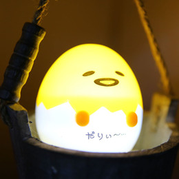 Wholesale Tables Party Children - Japanese Anime Gudetama Egg Light-Up Children Toy Lazy Egg Yolk Gudetama Sleep LED Night Light Cute Decorate Table Lamp