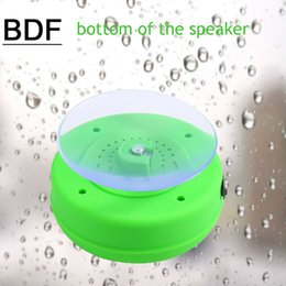 water resistant bluetooth shower speaker Coupons - Wholesale- Water Resistant BTS-06 mini portable Shower Bluetooth Speaker with Sucker Support Hands-free Calls Function for All Mobile Phone