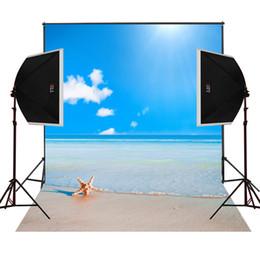 2019 фоны ясно море песок пляж живописные фото фон для свадебной камеры fotografica цифровой ткани студийные фотографии реквизит виниловые фотографии фонов скидка фоны