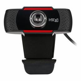 Wholesale Usb Web Mini Camera Hd - Mini HXSJ S20 180 Degree 0.3 MP HD Camera Web Cam Webcam with Microphone Support Windows 2000 XP 7 8 Vista 32bit Android TV