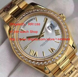 Wholesale Diamond Factory Supplier Watch - EF Factory Supplier NEW Luxury High Quality Day Date Caliber 3255 Automatic Men's Watch NEW Style Bracele with Diamond