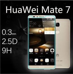 Película de huawei 3x online-Protector de pantalla de película de vidrio templado para Huawei Hua Wei Ascend P6 P7 P8 mini P9 Plus Y3 Y5 Y6 V8 B199 C199 4A honor 3c 3X 7 más 5c 4x 6