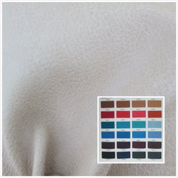 Wholesale Pu Leather For Sofa - K3099 high quality elephant grain faux leather fabric PU soft synthetic leather 46 color textile fabric for bag belt sofa