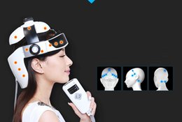 Wholesale Electric Massager Therapy - DHL free shipping Electric Head Massager Brain Scalp Massage Acupuncture Points Relax Massage for Head Massager
