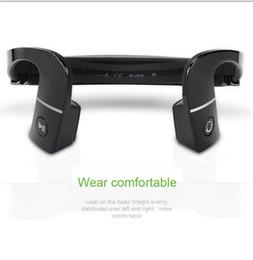Новое прибытие S. Wear LF-18 беспроводная связь Bluetooth 4.1 стерео гарнитура шейный ремешок наушники костной проводимости NFC Hands-free наушники LF18 supplier bone hands от Поставщики кости рук