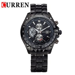 Wholesale Tungsten Steel Blue Rings - New style luxury leisure luxury casual Shi ying watch men large ring casual waterproof Timing watch mechanical watch