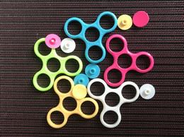 2019 bunte flash-spinnerei Rahmen für Zappeln Spielzeug Hand Spinner Acryl EDC Finger Spinner Schreibtisch Fokus Spielzeug 200 p / l