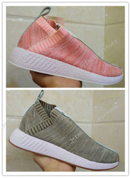 Wholesale Naked Original - 2017 Cheap New Originals Outdoor Sports Sneakers x Naked x Kith Mens Women Athletic Breathable NMD PK CS2 Running Shoes Size 36-45 US 5-11