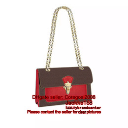Wholesale Womens Leather Black Bag - NEW M41731 black M51196 SHOPPER Aurore LIMITED EDITION womens handbag bag Luxury chain Shoulder tote bag genuine leather ESTRELA