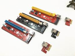 Wholesale Pci Boards - Latest version ver 007S board PCI-E PCI E Express 1X to 16X Riser Card USB 3.0 Cable for Bitcoin Litecoin Mine 60cm