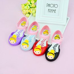 Wholesale Wholesale Girl Sandals - Meilisi children jelly shoes factory direct childrens shoes girls princess shoes, 2017 summer new girl sandals