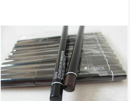 Wholesale Refill Pencils - 12 PCS lots of specialized cosmetics brand rotating scalable black and brown eyeliner