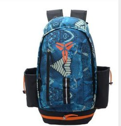 Wholesale Green School Bags - 2Fashion KOBE Men Backpacks Basketball Bag Sport Backpack School Bag For Teenager Outdoor Backpack Marque Mochila