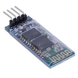 Wholesale Bluetooth Module For Arduino - Wholesale-HC-06 4 Pin Serial Wireless Bluetooth RF Transceiver Module For Arduino Wholesale Store