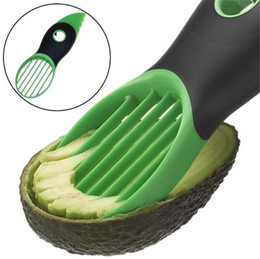 Wholesale Wholesale Plastic Utensils - Good Grips 3-IN-1 Avocado Slicer With Knife Pitter Peeler And Scoop Kitchen Utensil Tool Free Shipping