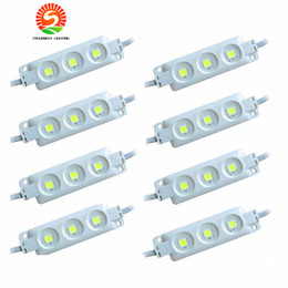 Wholesale Red Module - led modules yellow SMD5630 5730 Injection ABS Plastic 3leds 1.5W DC12V High Lumen led modules Backlights String White Warm White Red Blue