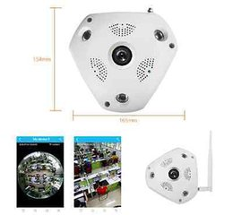 Wholesale Day Night System - 2017 Newest 360° Panorama VR Camera HD 1080P Fisheye 3D VR Panorama Wireless Wifi Home Security Surveillance System Hidden Webcam CCTV