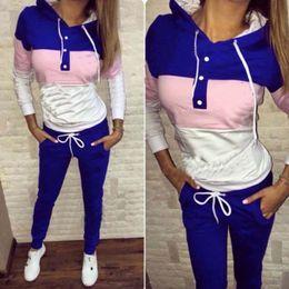 Wholesale Polka Dot Coat Women S - Brand New Tracksuit for women sweatshirt and Joggers sets Plus Size Autumn Winter Coat svitshot hoodie