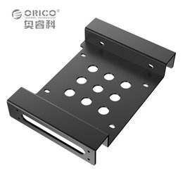 Wholesale Hard Solid Drive Ssd - Wholesale- ORICO AC52535-1S 5.25-Inch Drive Bay to 3.5-Inch Hard Drive Rack SSD Solid Drive Aluminum Bracket