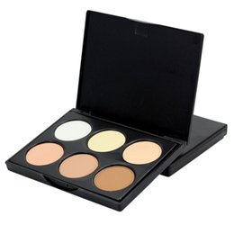 Wholesale Mineral Makeup Compact - Wholesale-New Makeup Compact Face Powder Contour Make Up Studio Fix Bronzer Shading Mineral Pressed Powder Palette