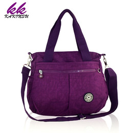 Wholesale Casual Messenger Bags For Women - Wholesale-2016 Special Offer Fashion Waterproof Nylon Shoulder Bag Monkey Kip Style Quality Messenger Crossbody Bags for Women Handbags