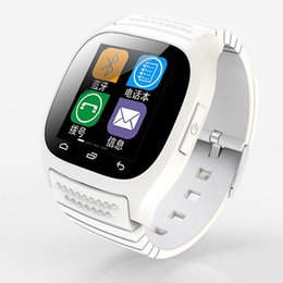Wholesale Android Phone Zte - Bluetooth Smart Watch M26 Smartwatch Dial SMS Pedometer for samsung xiaomi Alcatel zte lenovo Android phone Wholesale