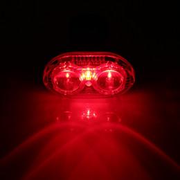 Горячие продажи 2 LED велосипед свет 3 Режим велосипед задний фонарь водонепроницаемый Велоспорт безопасности предупреждение мигает задние фонари лампы Bisiklet Aksesuar от