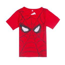 Wholesale Boys Batman Tops - Baby Boys T-Shirts Summer Short Sleeve Superman Children Tees Shirts 100% Cotton Soft Kids Batman Tops Spiderman T Shirt
