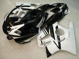 Wholesale 1998 F3 - Fairing Kits CBR600 F3 1995 Body Kits CBR 600 F3 1997 Black Plastic Fairings CBR600F3 1996 1995 - 1998