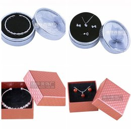 Wholesale jewelry packaging bracelet box packing - High Archives Kraft Jewelry Packing Bracelet & Necklace & Ring & Ear Nail display Boxes Christmas New Year birthday packaging Gift box
