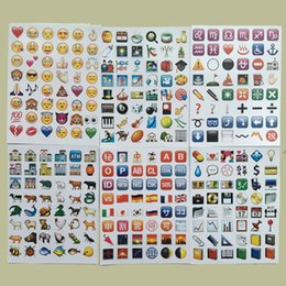 Wholesale Hot Bumper Stickers - Emoji Expression Bumper Stickers High Quality Wide Range Of Uses For Phone Notebook Removable Sticker Hot Sell 11tk R