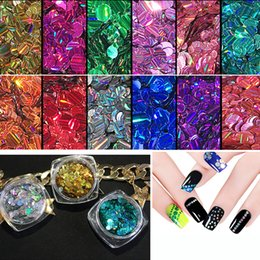 Canada Festival Glitter Pots Chunky Fine Mixed Disques pour Nail Art Face Eye Body Tattoo Sparkly DIY Design Décoration Offre