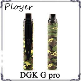 Wholesale E Cig Pro - dgk snoop dogg pen pro dry herb herbal vaporizer travel starter kit kits g vaporizador wax coil replacement ecig e cig electronic cigarette