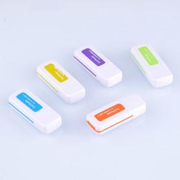 Çoklu hafıza kartı Okuyucu adaptörü küçük çok amaçlı 4 in 1 Yüksek Hızlı USB 2.0 Mikro SD kart T-Flash MS M2 TF nereden en küçük usb flaşı tedarikçiler