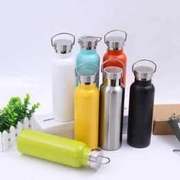 Wholesale Ups Thermal - Thermos Water Bottles Stainless Steel Vacuum Space Cups Safe Seal Up Double Wall Tumbler Anti Wear Fashion 35pg4 B