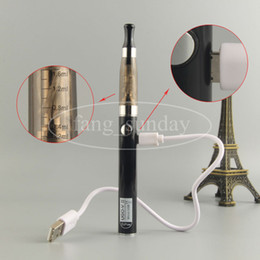 Wholesale Ego Ce4 V2 Clearomizer - Updated eGo CE-4 Blister Pack Set 510 Thread Battery 650 900 mah UGO V2 1.6ml CE4 Clearomizer E Cigarette Kit