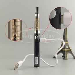 Wholesale Ego V2 Clearomizer - Updated eGo CE-4 Blister Pack Set 510 Thread Battery 650 900 mah UGO V2 1.6ml CE4 Clearomizer E Cigarette Kit