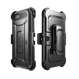 Wholesale Dual Layer Holster Case - Supcase iPhone 7 7Plus Unicorn Beetle Pro Holster Case Dual Layer Protection Built-in Screen Protector With Belt Clip Holster