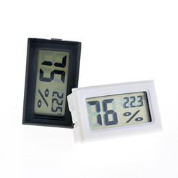 2017 nouveau noir / blanc FY-11 Mini LCD Numérique Environnement Thermomètre Hygromètre Humidité Température Compteur Dans le réfrigérateur de la pièce glacière ? partir de fabricateur