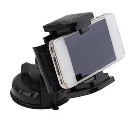 Wholesale Vehicles Accessories - Wholesale- car Universal Auto Vehicle Car Trucks Windscreen Suction Mount Holder Cradle For GPS Phone Holders Car Accessories Styling