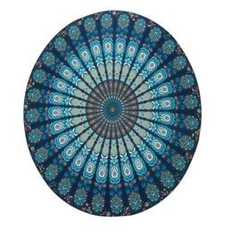 Wholesale Tablecloth Setting - Summer Chiffon Round Mandala Beach Towels Printed Tapestry Hippy Boho Tablecloth Bohemian Beach Towel Serviette Covers Cool Beach Yoga Mat
