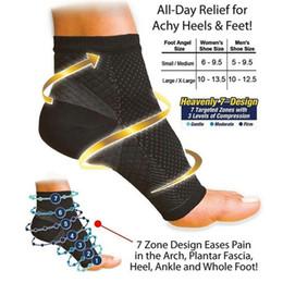 2020 meias varicosas Atacado-homem mulheres anti fadiga compressão pé pé pé tornozelo meias de compressão anti fadiga varizes pés de manga 1 pc (não 1 par) desconto meias varicosas