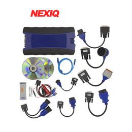 Wholesale Nexiq Bluetooth - 2018 NEXIQ-2 USB Link New Arrival Auto Heavy Duty Truck Diesel Truck Diagnostic interface Nexiq 2 Bluetooth scanner