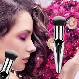 Wholesale Chubby Fishing - fish tail FAT BRUSHES Dry and wet Foundation Brush BB Cream Fashion Lady makeup Love Chubby Flat Brush Factory sell different shape