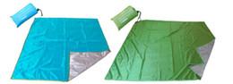 Almofadas de tenda on-line-Barraca de acampamento ao ar livre é protetor solar à prova d 'água dampproof mat mat Oxford pano espessamento tapete de praia grande churrasqueira almofada
